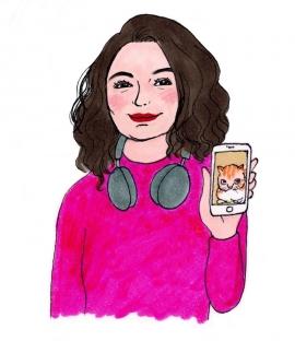 Illustration Kanako de Chloe