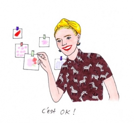 Illustration Kanako de Clémentine